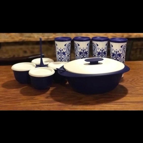 Tupperware Kitchen Talavera Collection Serving Set Poshmark